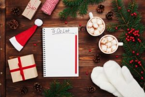 blissfully organised; christmas planning; christmas top tips