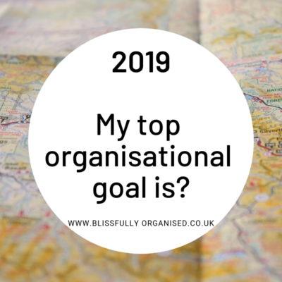 New Year Organisational Tips 2019