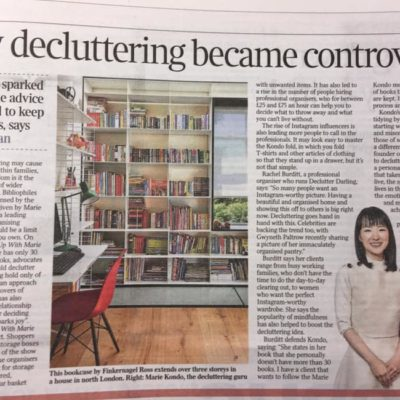How Decluttering Became Controversial – The Times