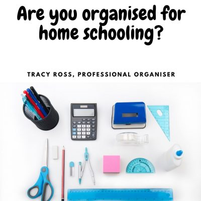 Are You Organised For Home Schooling?