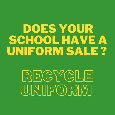 End of The School Year – Recycling Uniform