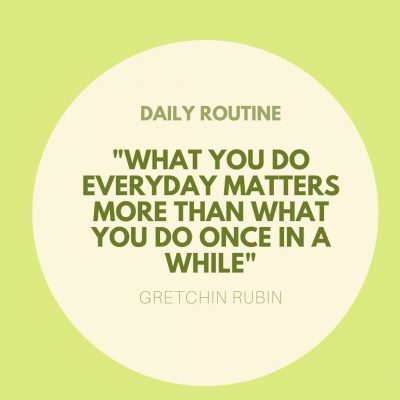 Why Are Daily Routines Important?