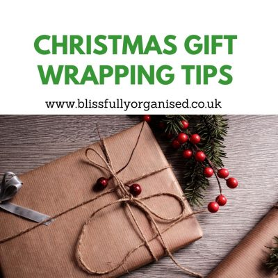 Christmas Gift Wrapping Tips