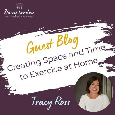 Creating Space & Time to Exercise at Home